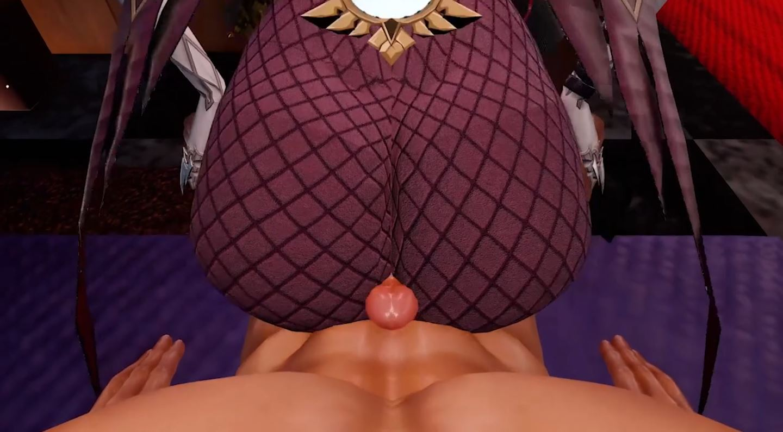 Rosaria Ningguang Duo Sex EroMMD 11