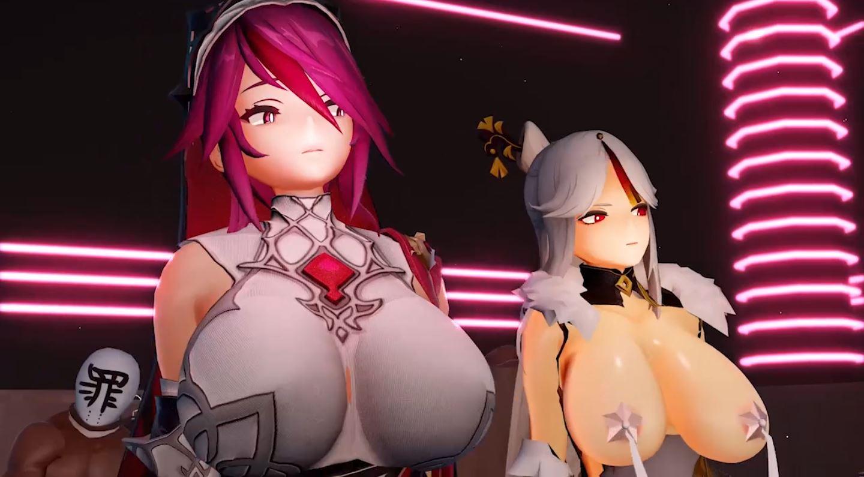 Rosaria Ningguang Duo Sex EroMMD 4