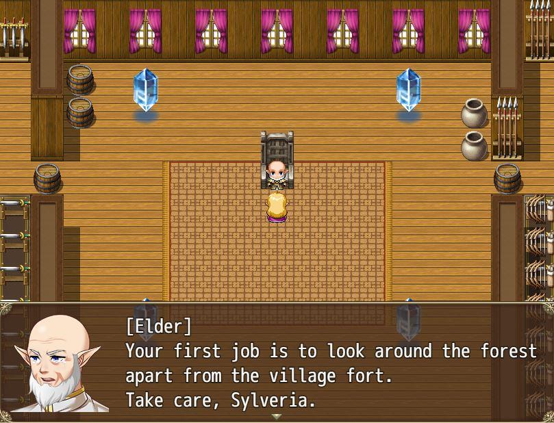 TheRapedKnightofSilveria Eroge RPG 11
