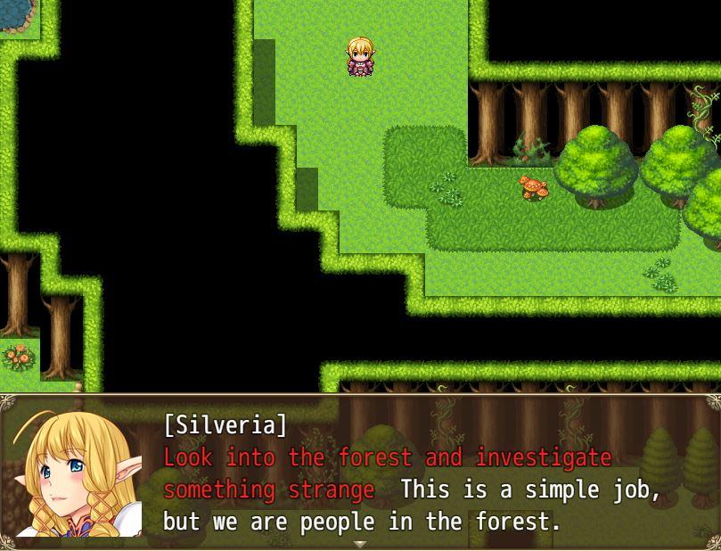 TheRapedKnightofSilveria Eroge RPG 13