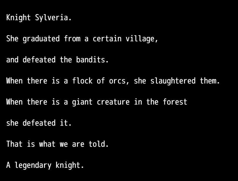 TheRapedKnightofSilveria Eroge RPG 2