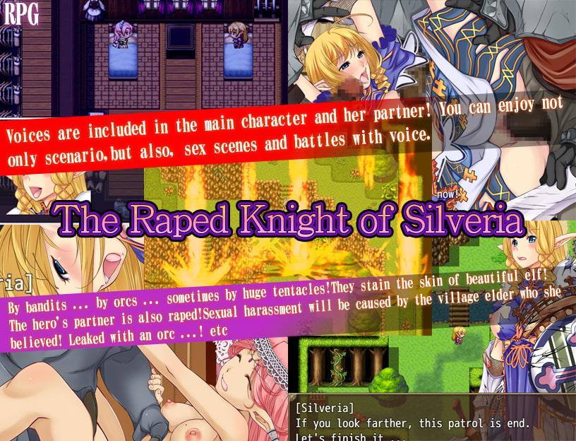 TheRapedKnightofSilveria Eroge RPG 23