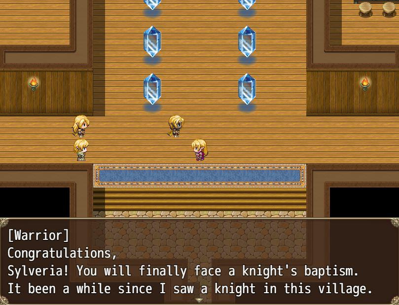 TheRapedKnightofSilveria Eroge RPG 7