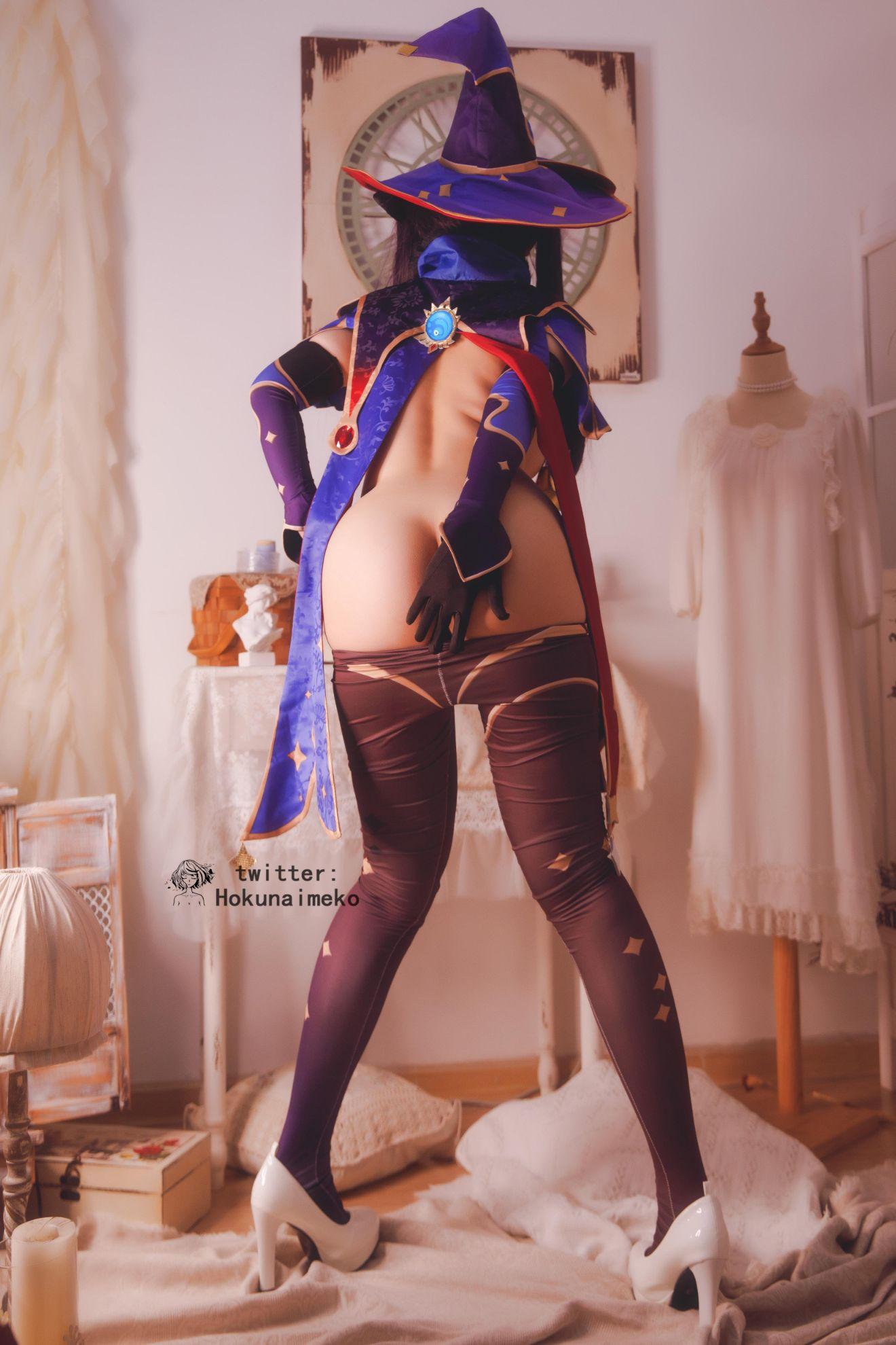GenshinImpact Mona EroCosplay by Hokunaimeko 22