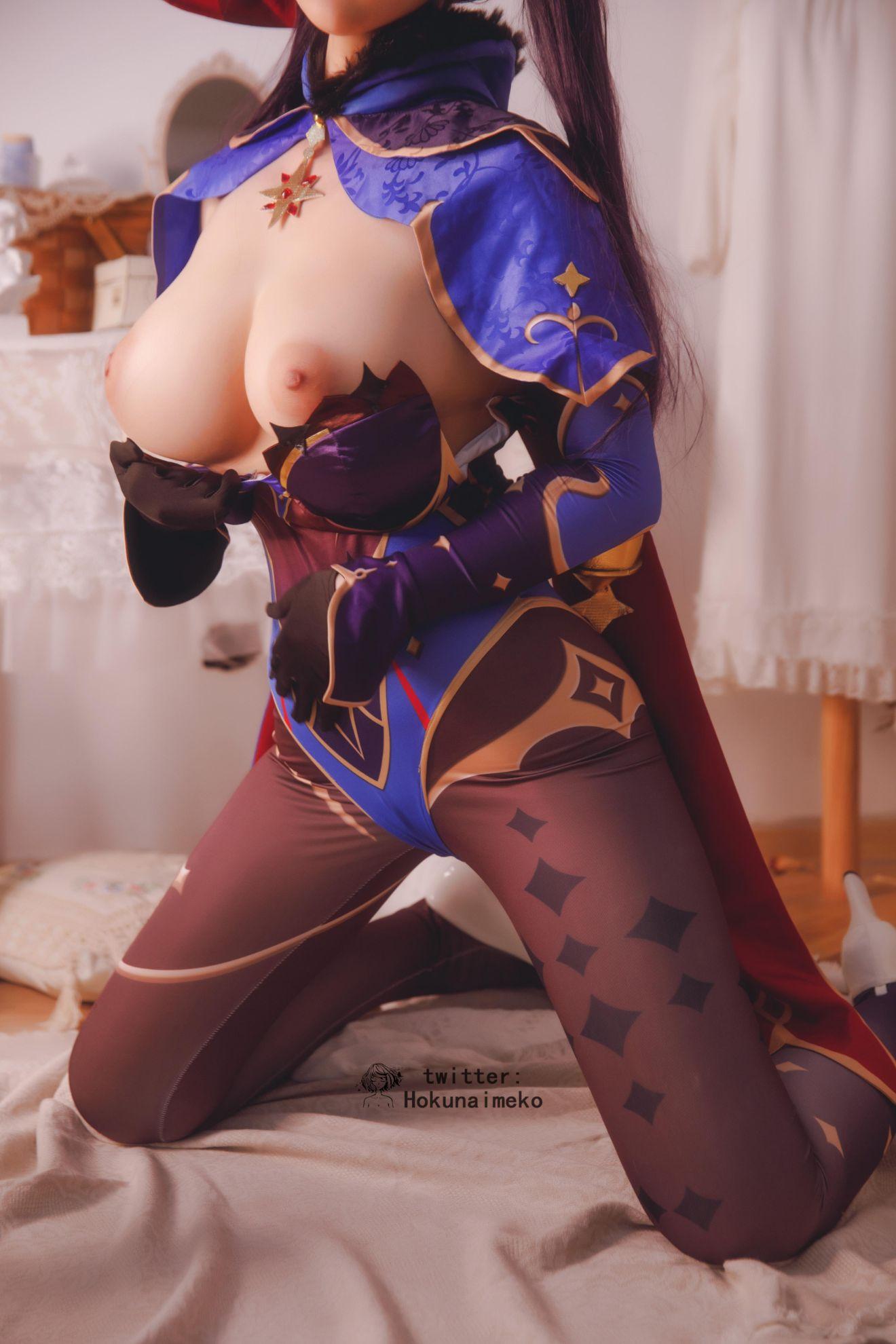 GenshinImpact Mona EroCosplay by Hokunaimeko 6