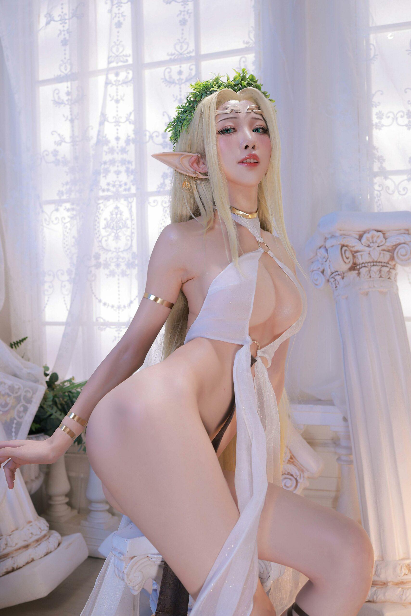 Kuroinu Celestine Cosplay by Aqua 38