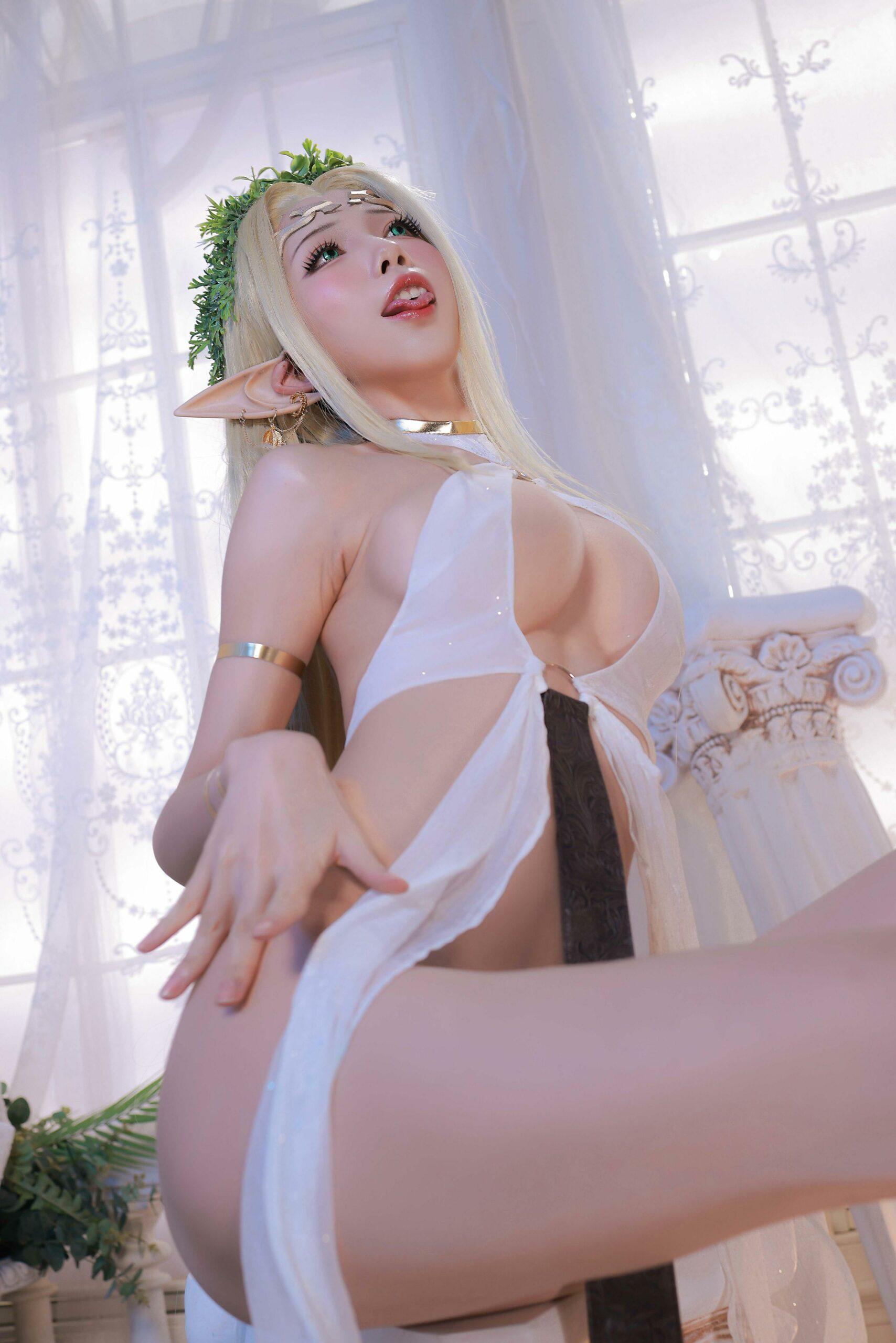 Kuroinu Celestine Cosplay by Aqua 43