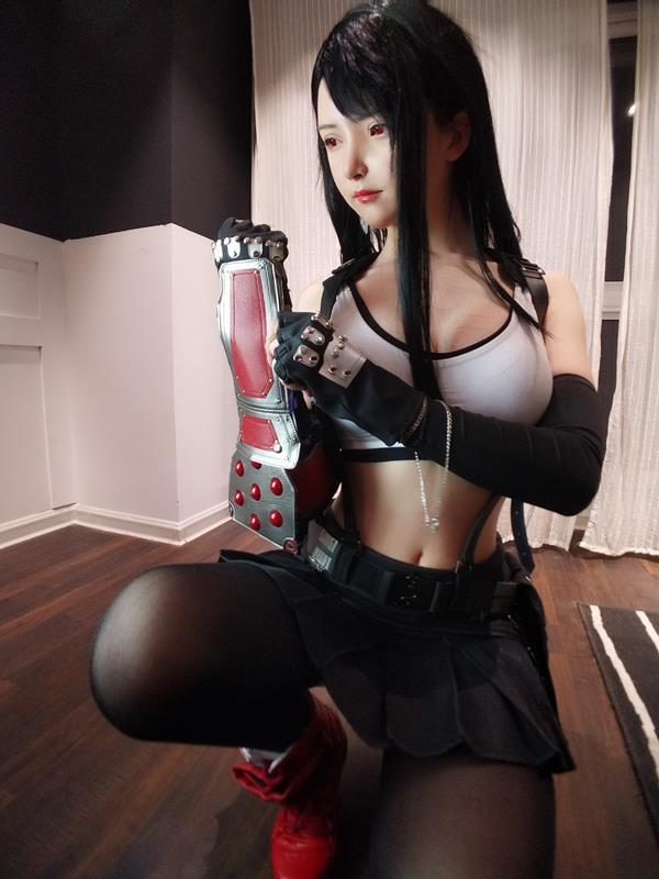 YixiaoyangzeTifaLockhartCosplay 30 2021