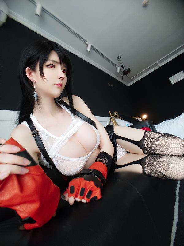YixiaoyangzeTifaLockhartCosplay 33 2021