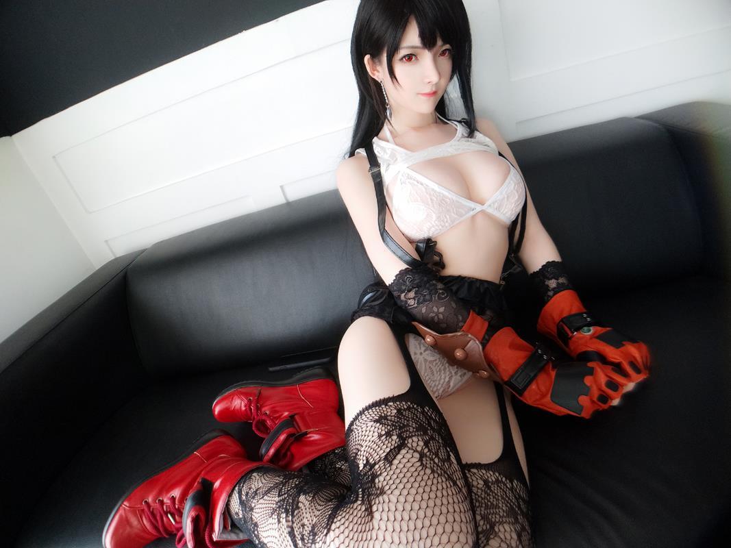 YixiaoyangzeTifaLockhartCosplay 45 2021