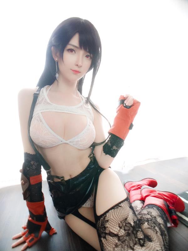 YixiaoyangzeTifaLockhartCosplay 47 2021