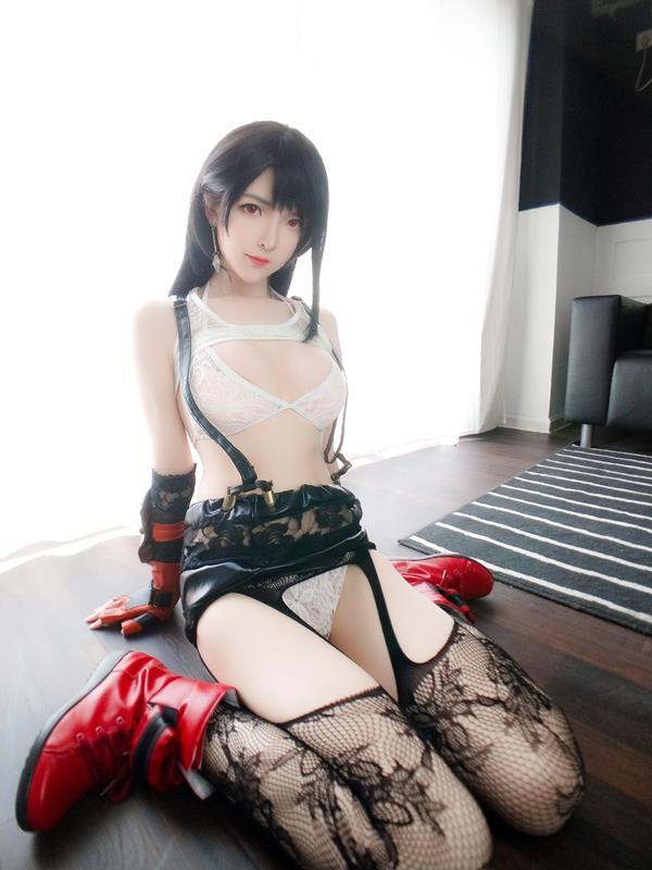 YixiaoyangzeTifaLockhartCosplay 60 2021